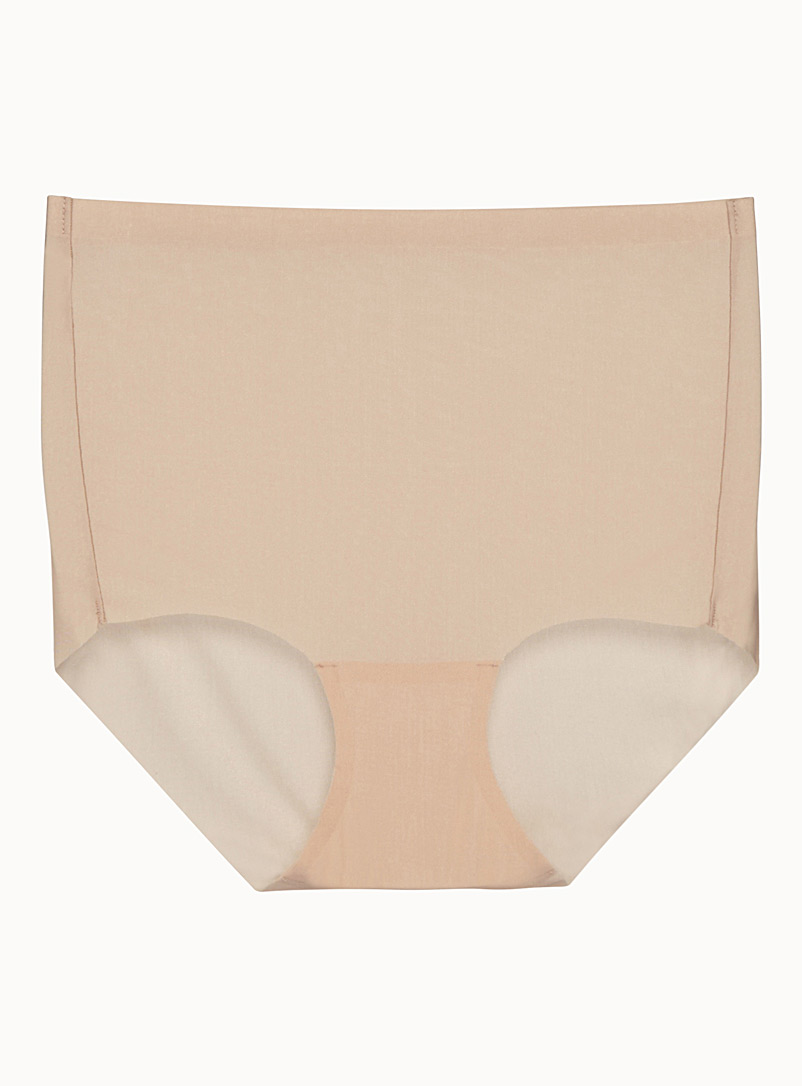 Invisible control panty - High waist - Cream Beige