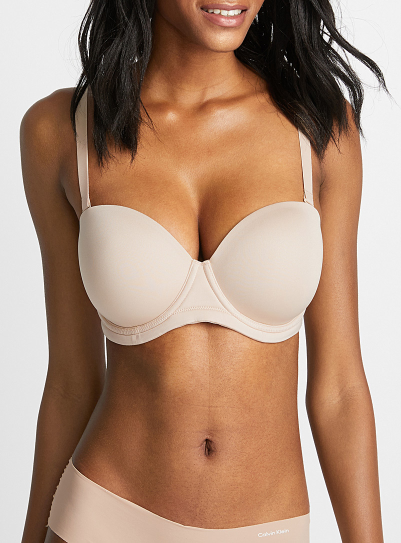 Wacoal Cream Beige Convertible full coverage bra for women