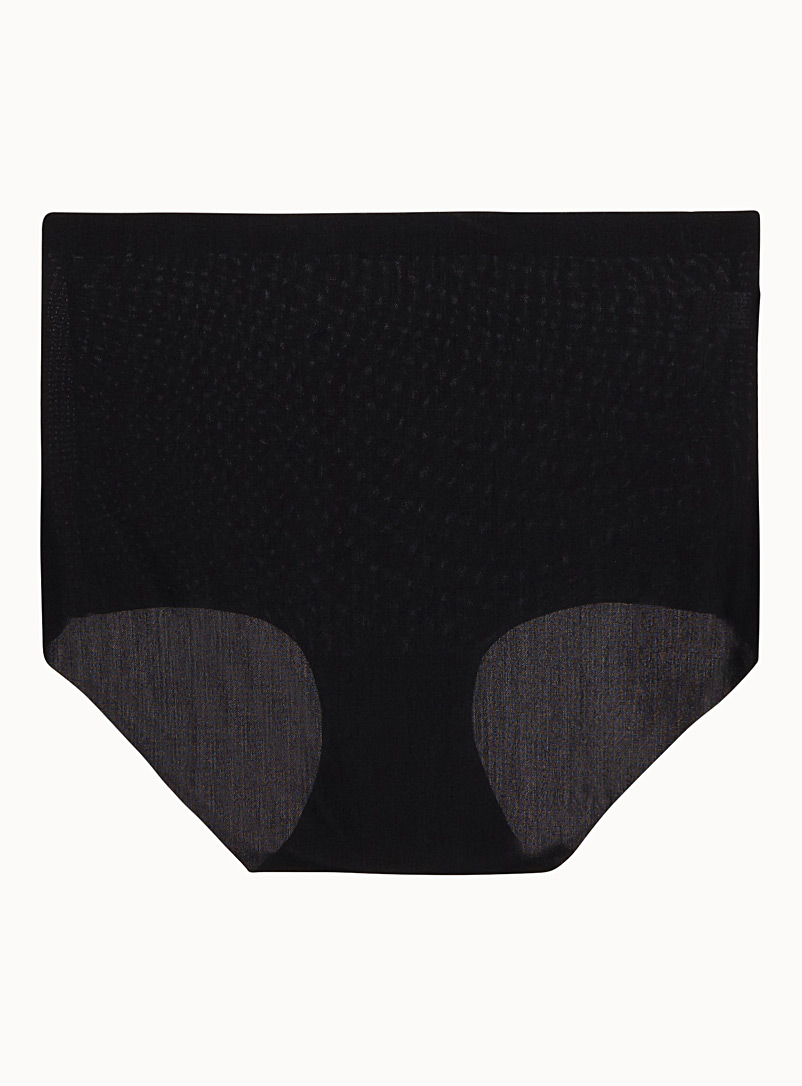 Invisible control panty - Shapewear - Black