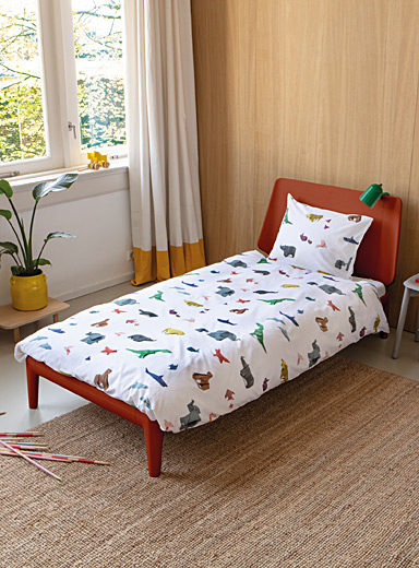 Day at the zoo duvet cover set