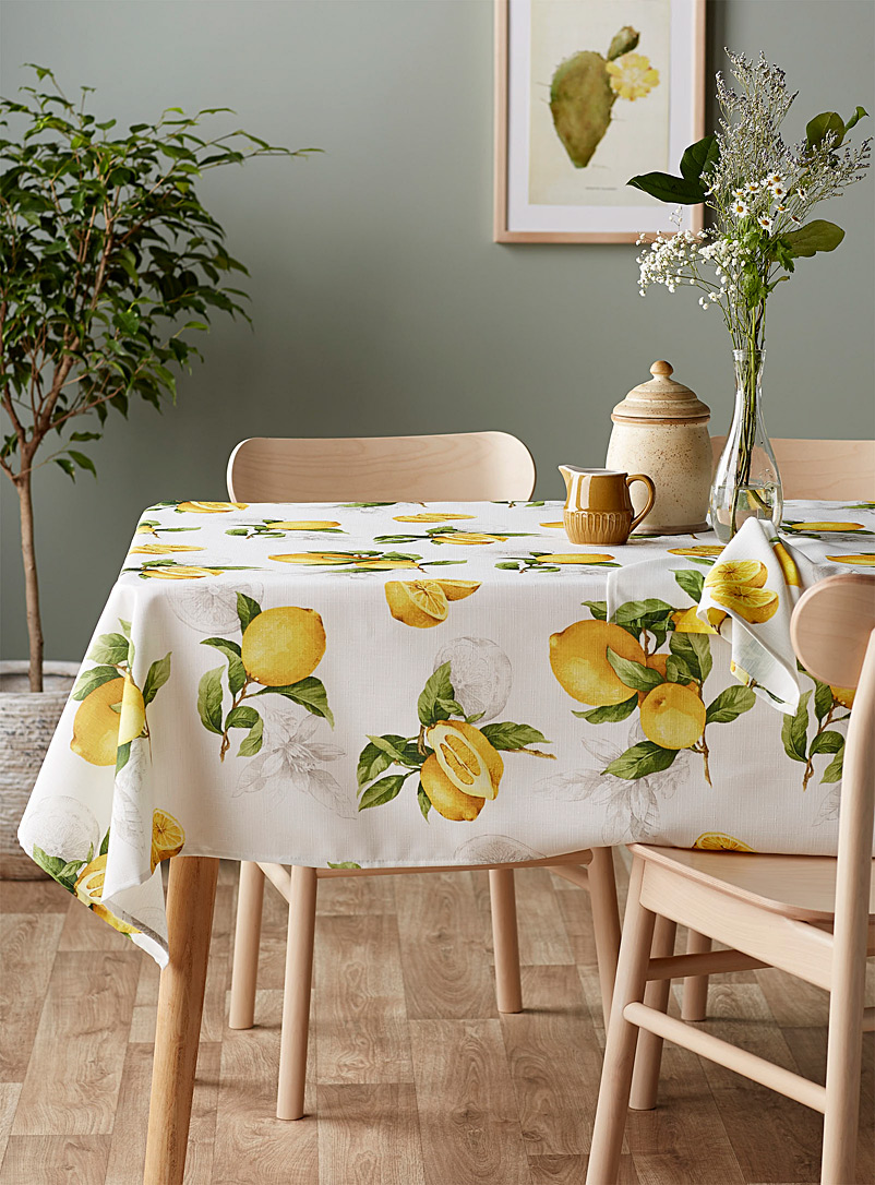 Simons Maison Assorted Lemon zest tablecloth