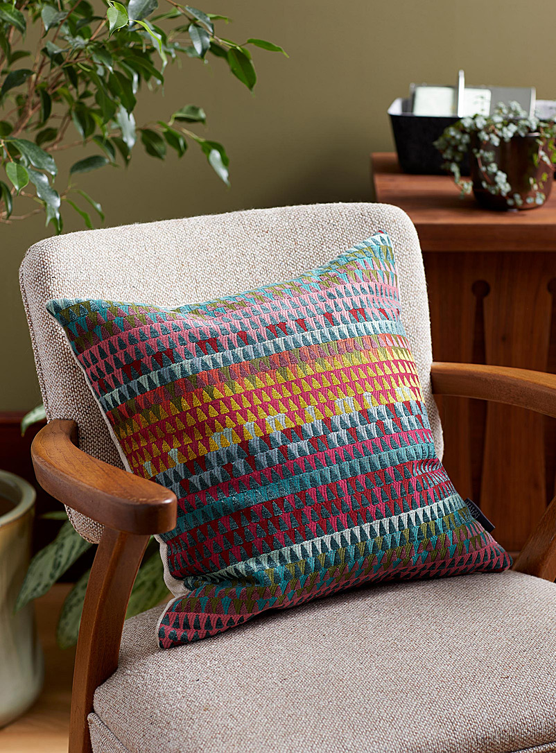 Margaret Muir Assorted Exotic mosaic cushion  45 x 45 cm