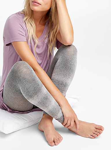 Shimmery accent legging