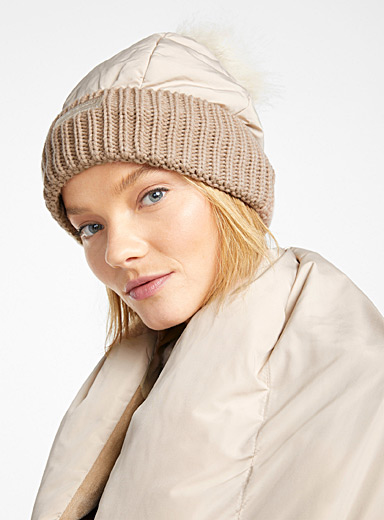 Quilted tuque