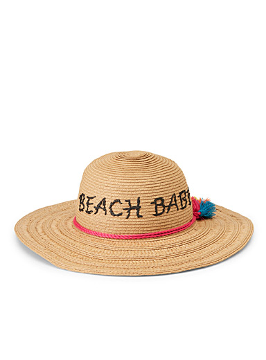Beach lover floppy hat