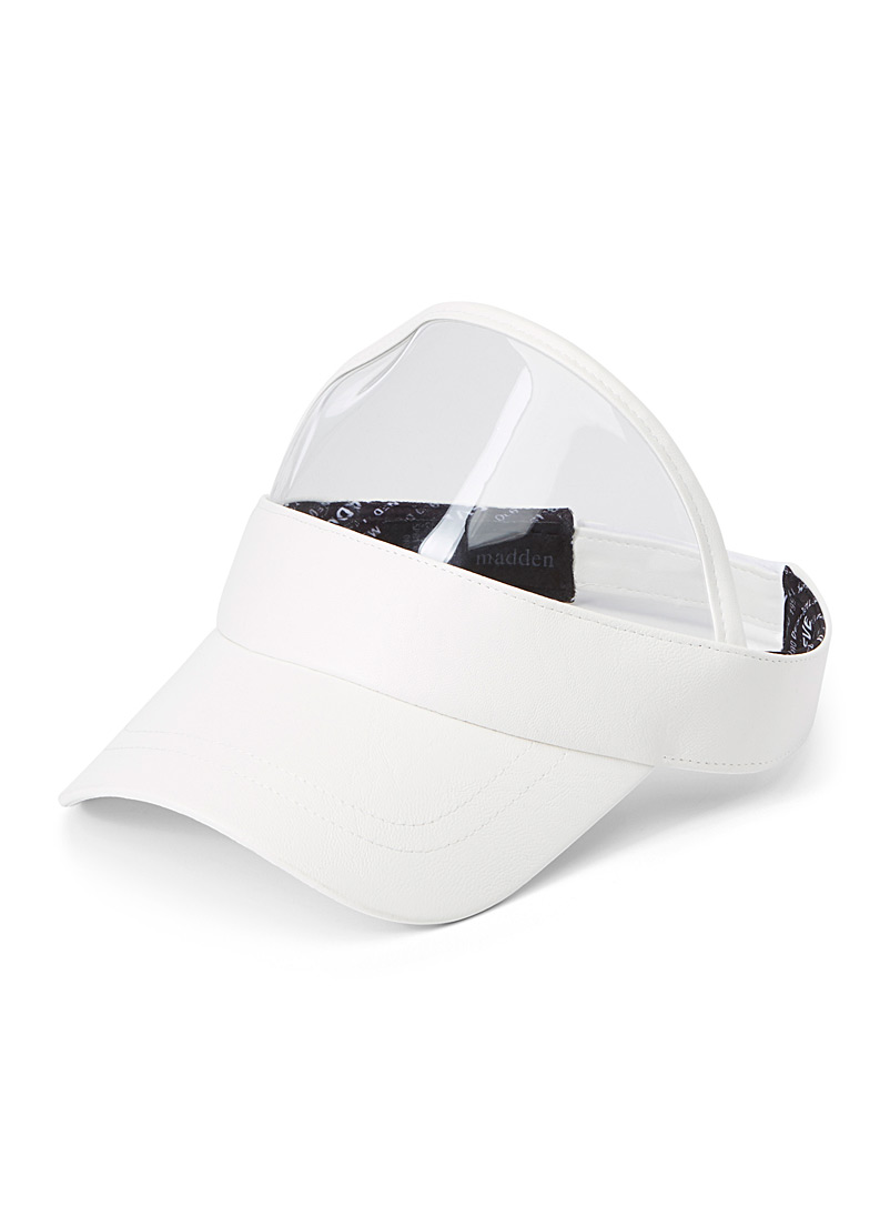 Transparent accent visor - Caps - White