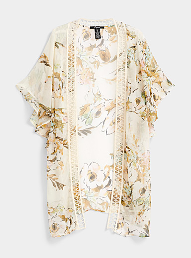 Simons Assorted Floral note shawl for women