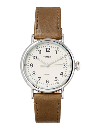 Vintage leather Standard watch