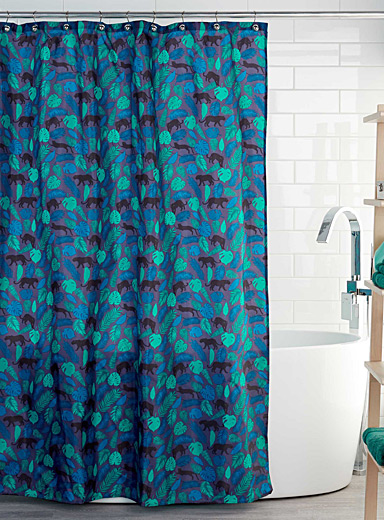 Majestic panther shower curtain