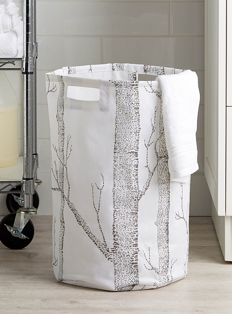 Simons Maison Assorted Nordic forest laundry hamper