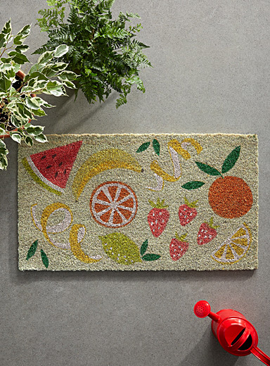 Simons Maison Assorted Festive punch door mat  40 x 70 cm