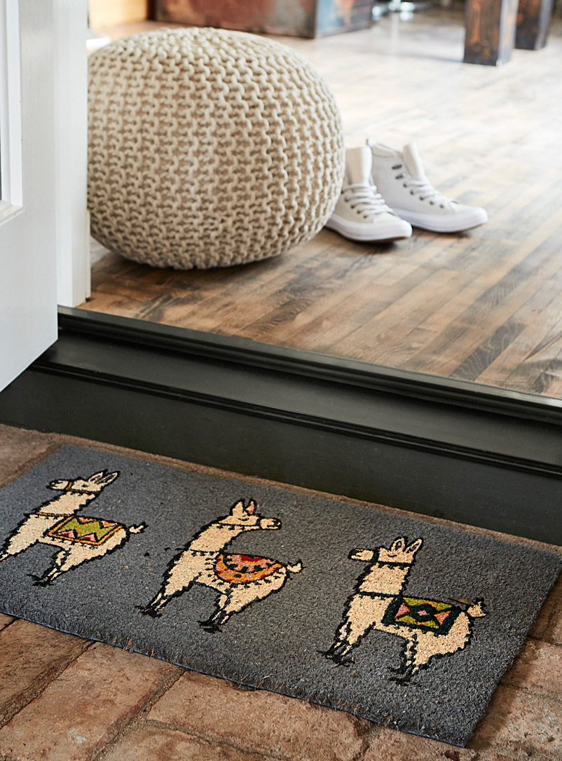 Desert llamas doormat  40 x 70 cm - Doormats & Outdoor Rugs - Assorted