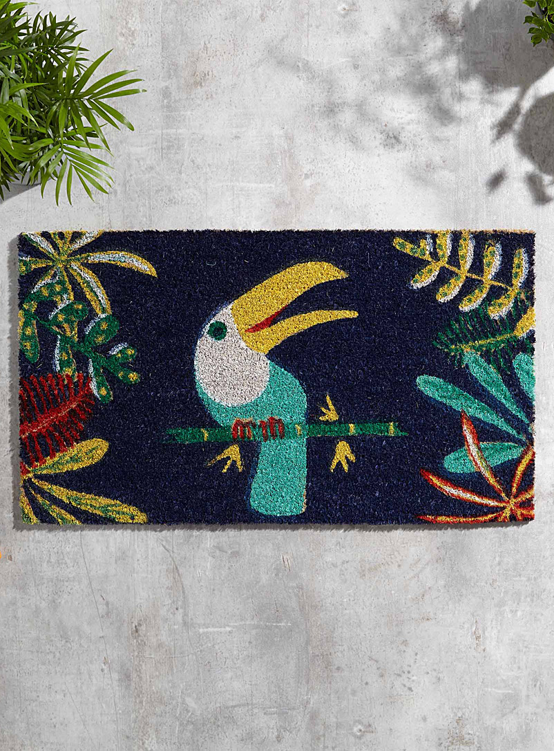 Welcoming toucan doormat  40 x 70 cm - Doormats & Outdoor Rugs - Assorted