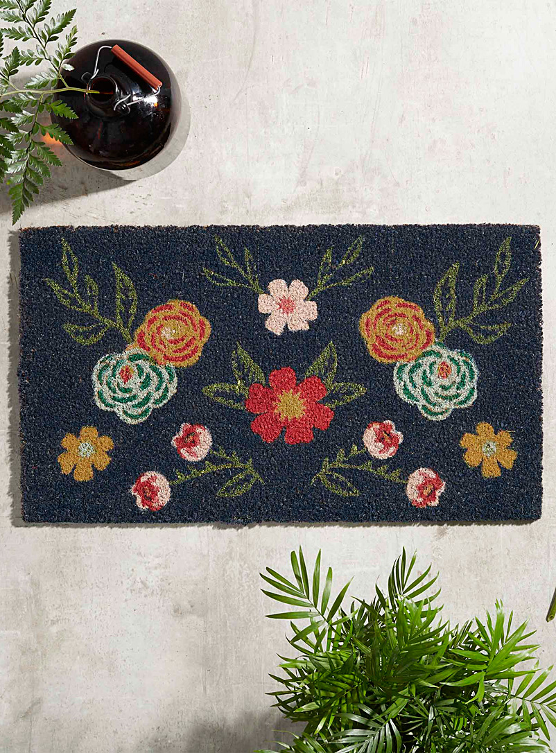 Simons Maison Assorted Nocturnal garden door mat  40 x 70 cm