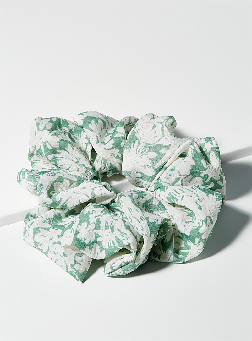 Patterned XL scrunchie