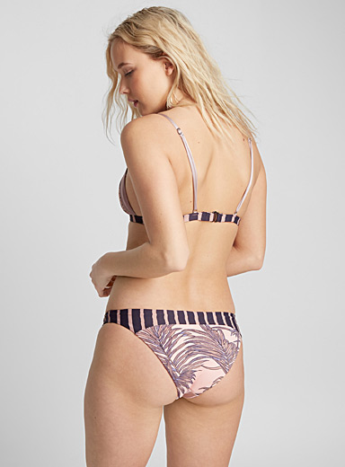 Tropical patchwork bottom