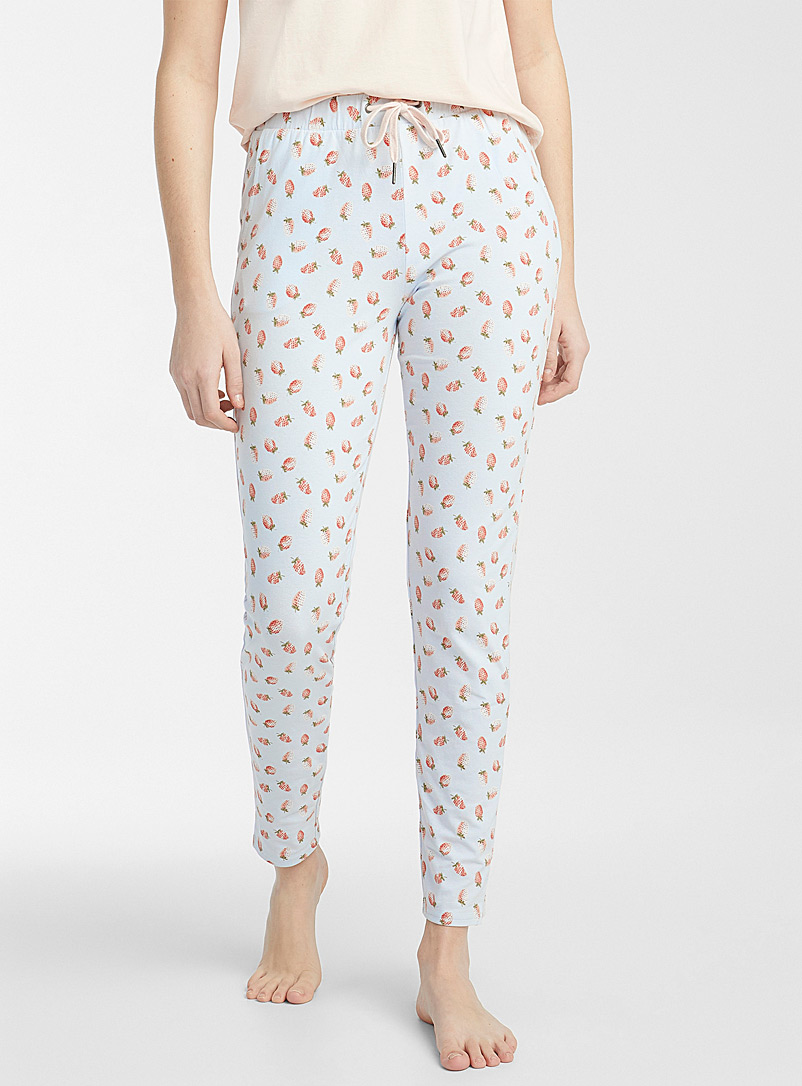 Cute pattern organic cotton pant