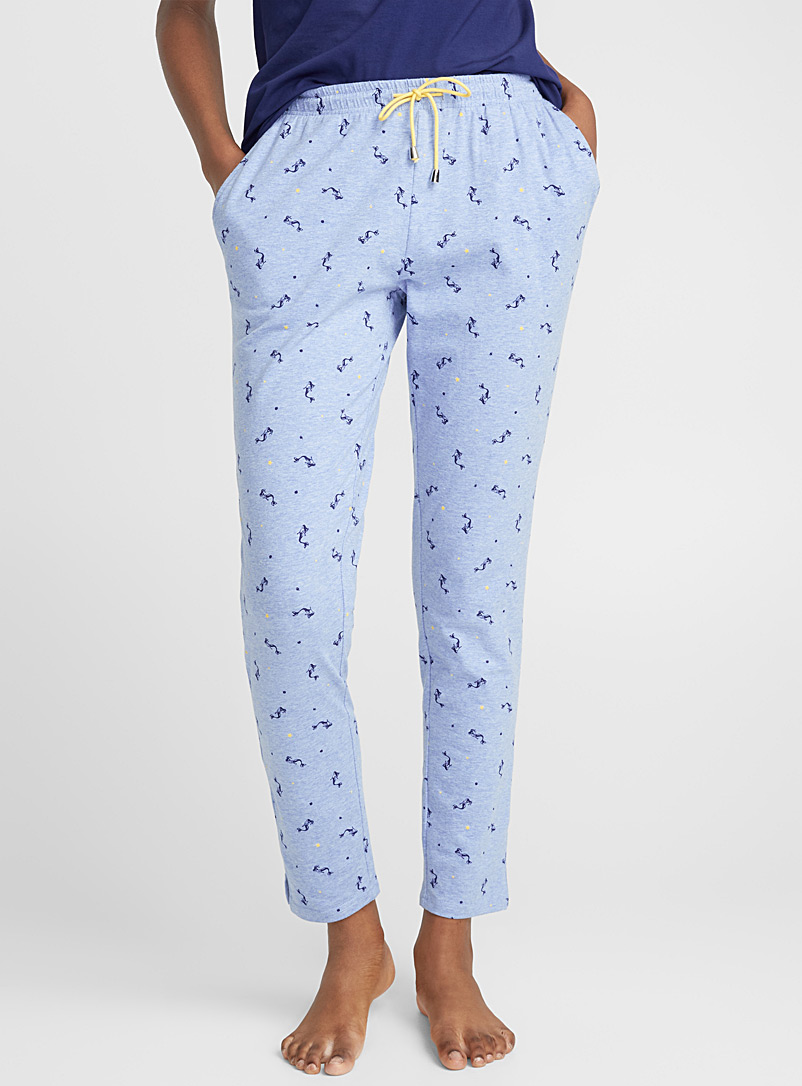 Funky pattern pant - Sleepwear & Leisurewear - Blue