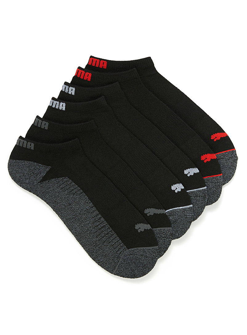 black-terry-ped-sock-6-pack