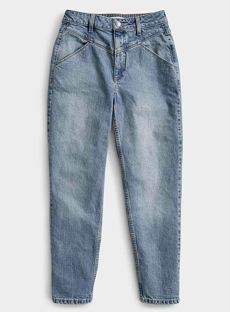 Le mom jean taille ultrahaute 80's