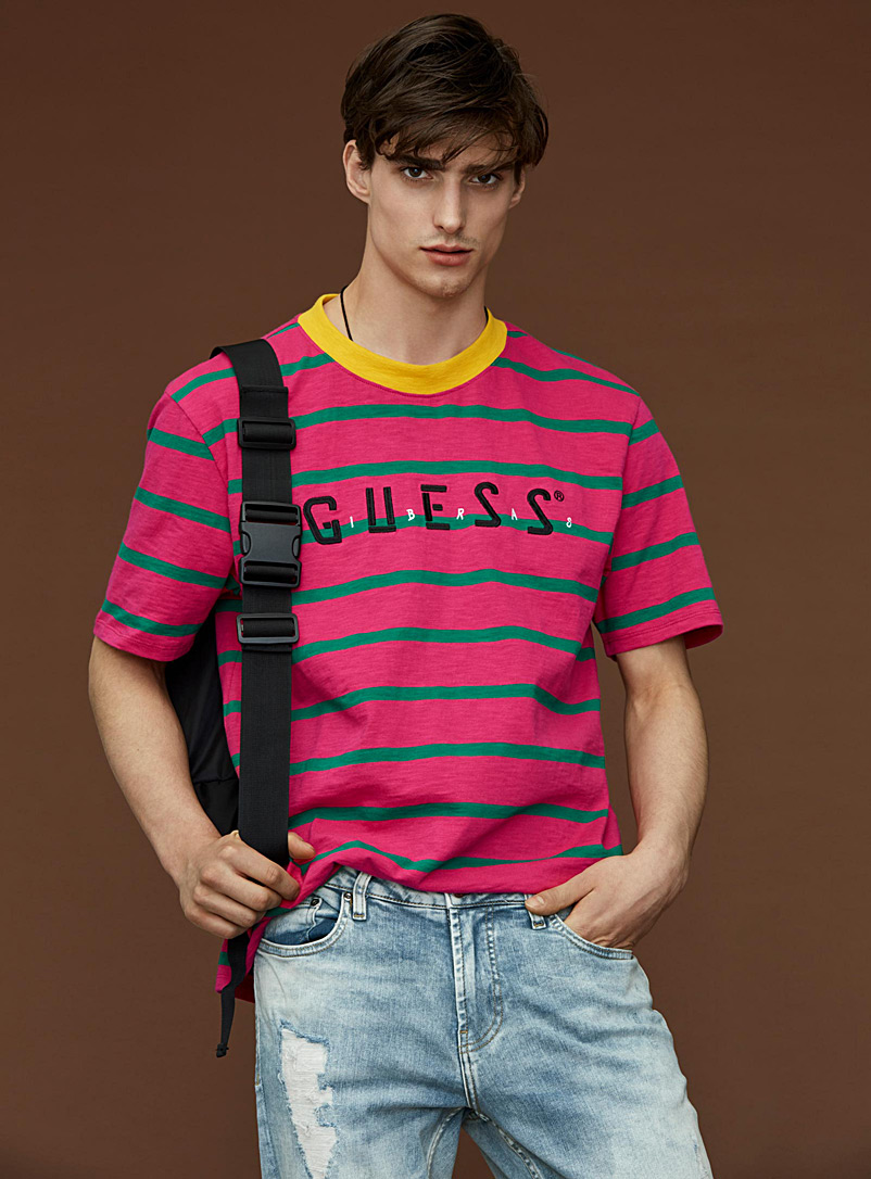 bright-stripe-guess-t-shirt
