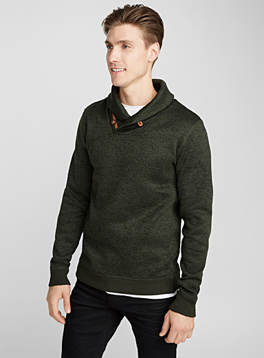 Le sweat col châle