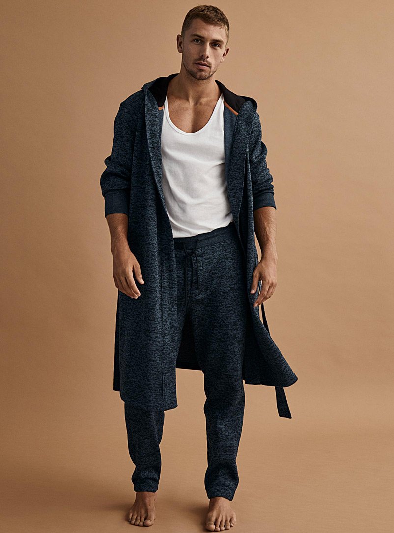 dimanche-heathered-recycled-polyester-robe