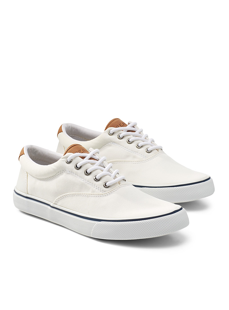 Sperry Top Sider: Le sneaker Striper II CVO Homme Blanc pour homme