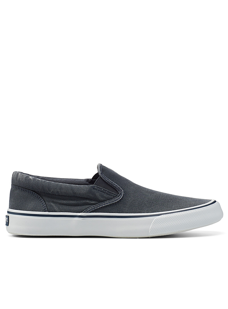 Sperry Top Sider Marine Blue Striper II slip-ons Men for men