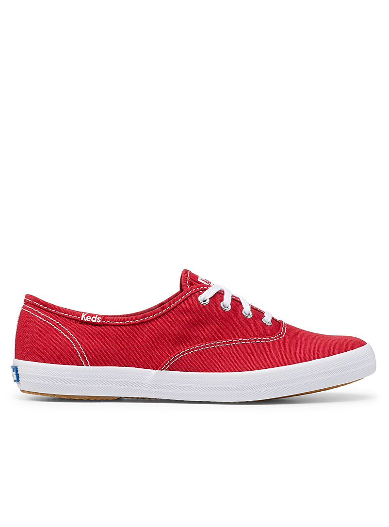 Keds Red Champion Originals red sneakers Women for women