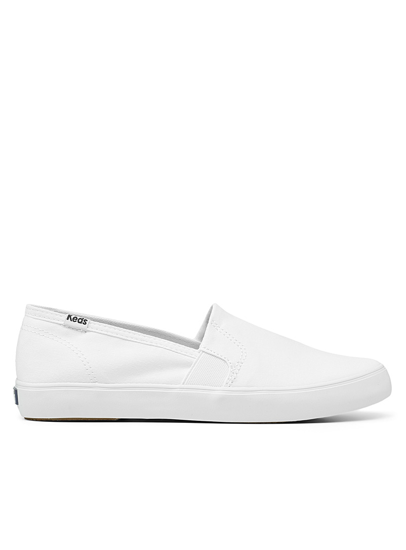 Keds White Champion monochrome slip-ons Women for women