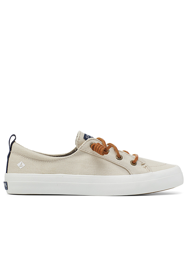 Sperry Top Sider Ivory White Crest Vibe sneakers Women for women
