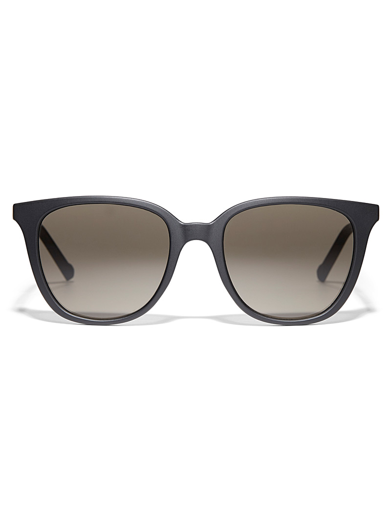 DKNY Black Lyz square sunglasses for women