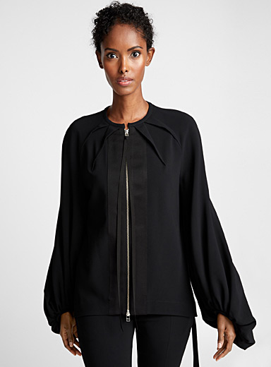 Tamsin puff-sleeve jacket