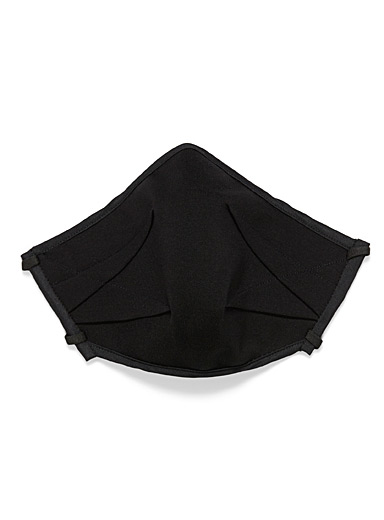 UNTTLD Black Origami fabric mask for women