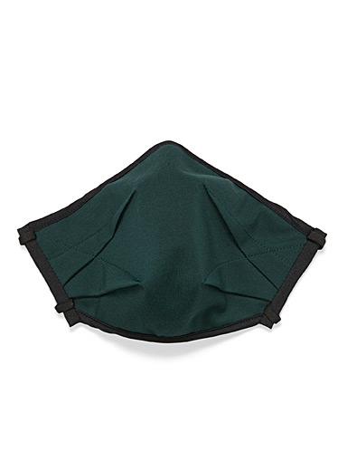 UNTTLD Green Origami fabric mask for women