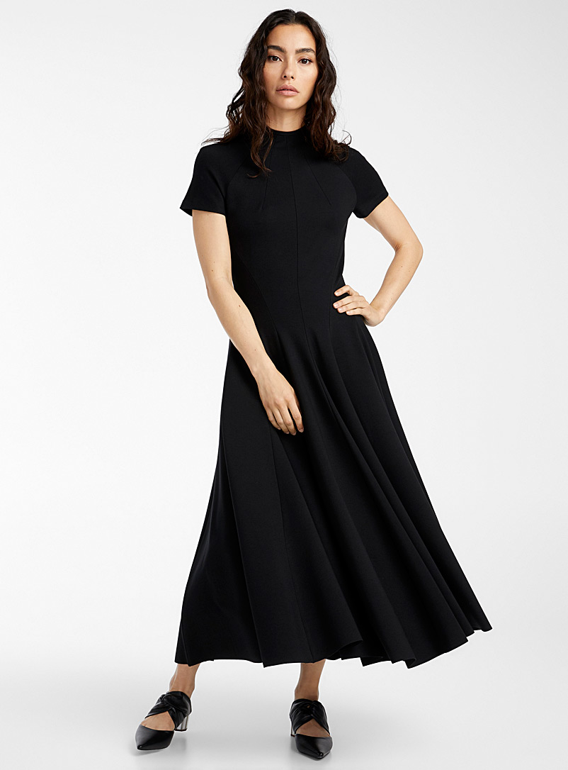 UNTTLD Black Theresa dress for women
