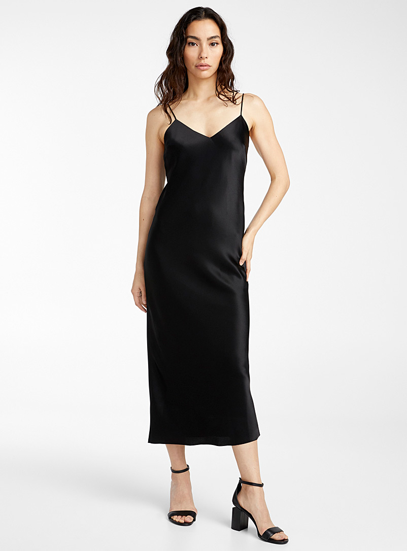 UNTTLD Black Chloe midi dress for women
