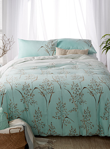 Twigs and leaves duvet cover set