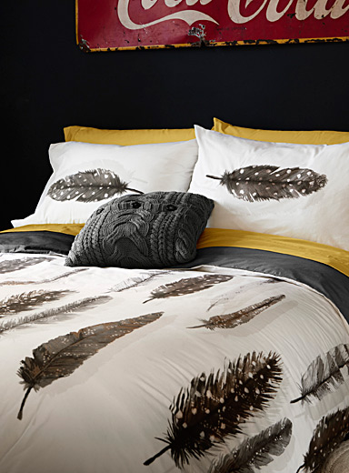 Free feather duvet cover set
