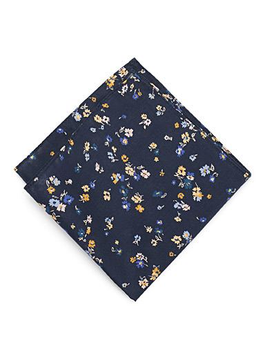 Liberty wildflower pocket square