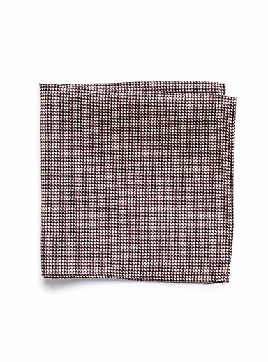 Retro polka dot pocket square