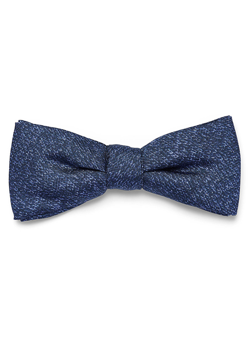 Le 31 Blue Heather bow tie for men