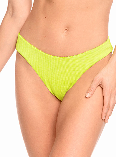 Roxy Green Diamond piqué cheeky bottom for women