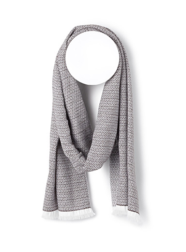 Dots and diamonds scarf