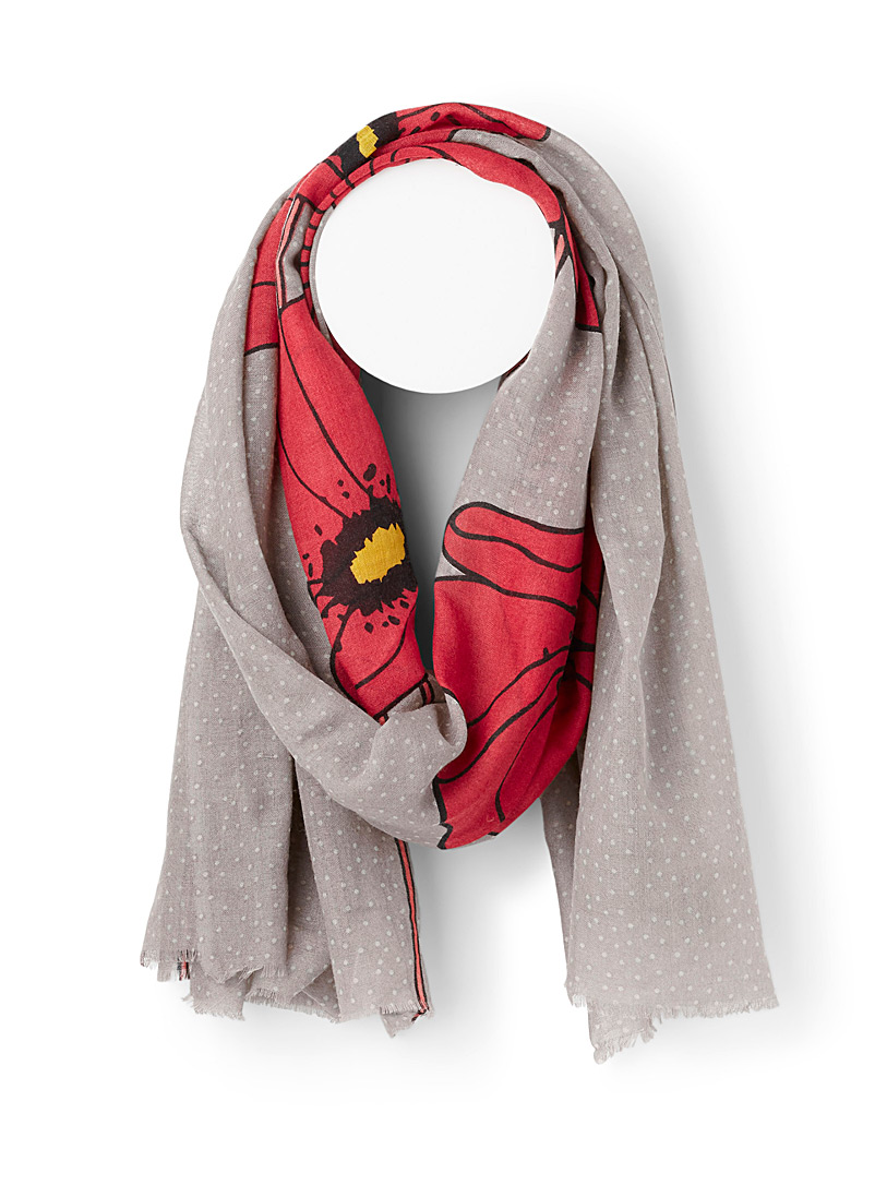 Storiatipic Assorted grey  Nara scarf for women
