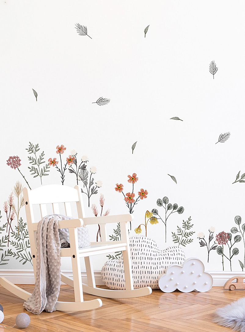 Simons Maison Assorted Drawn flowers wall stickers