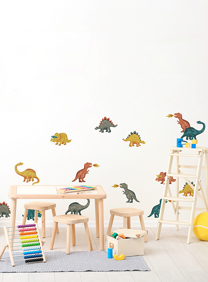 Simons Maison Assorted Dinosaurs wall stickers