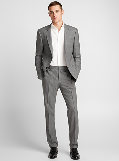 Henry/Griffin grey suit <br>Slim style
