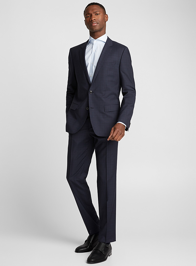 Henry Griffin 182 suit - Hugo Boss - Marine Blue
